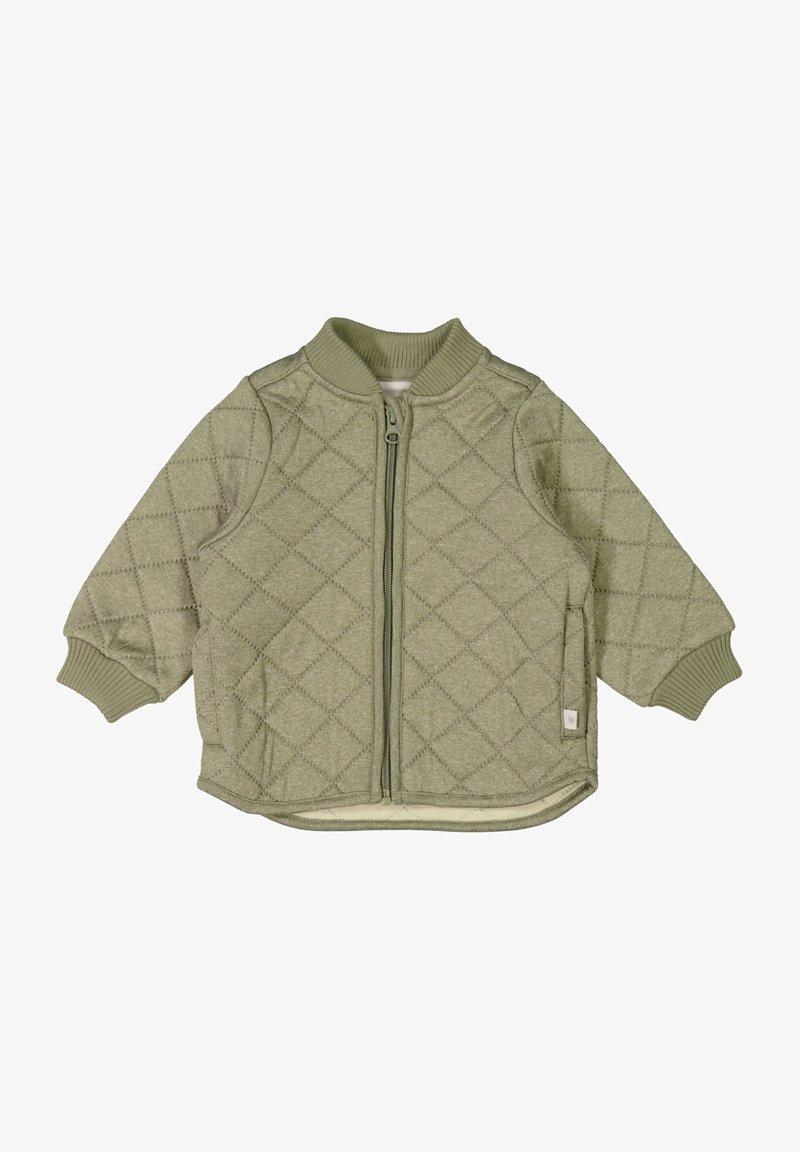 Wheat - Winter jacket - green melange
