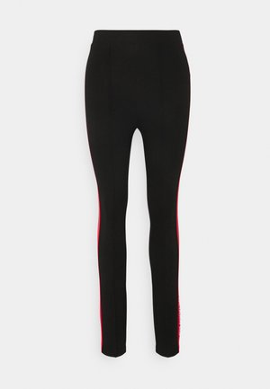 CONTRAST PANEL  - Leggings - Hosen - black