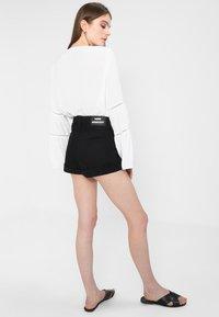 Dr.Denim - JENN  - Denim shorts - black - 2