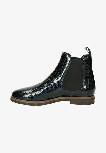 Ankle boots - blauw