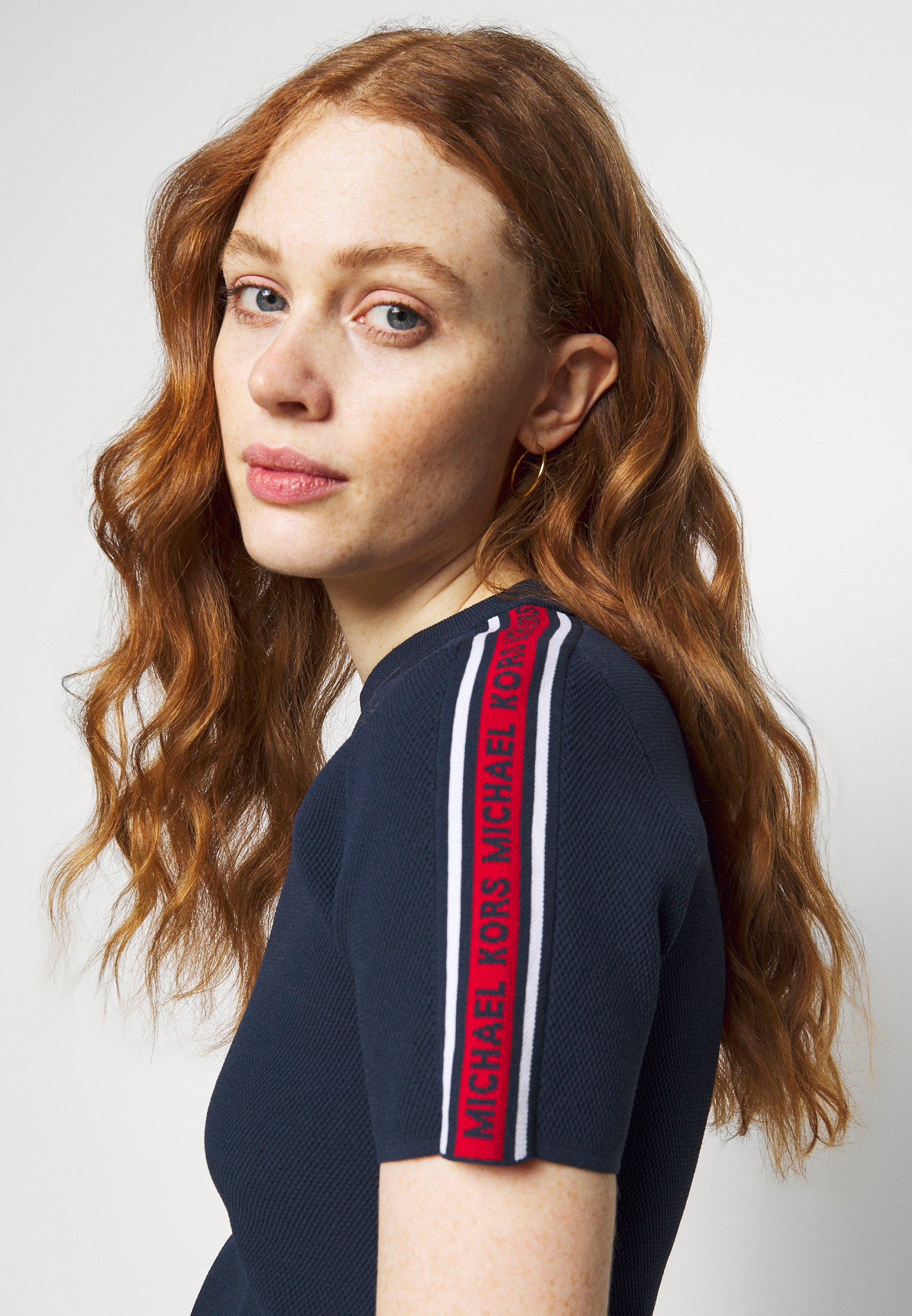 Women LOGO TAPE - Print T-shirt