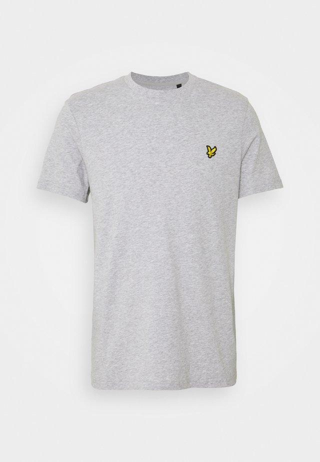 PLAIN - T-shirt basic - light grey marl