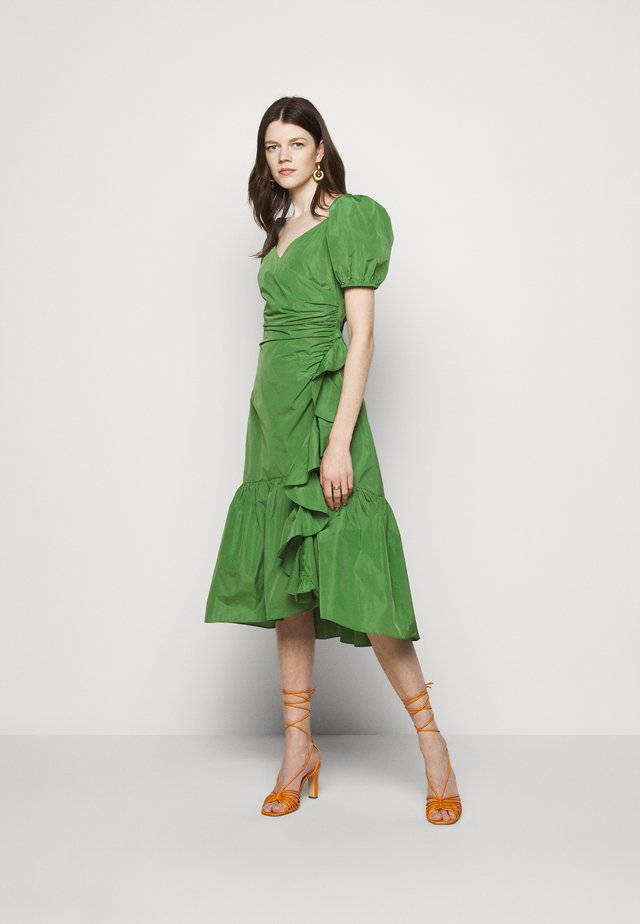 MEGAN DRESS - Korte jurk - grass