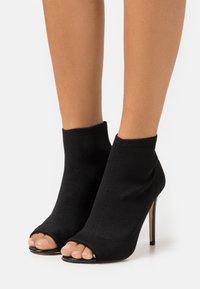 Miss Selfridge - STILETTO - High heeled ankle boots - black - 0