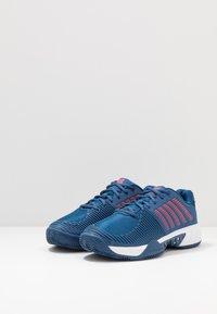 K-SWISS - EXPRESS LIGHT 2 HB - Clay court tennis shoes - dark blue/white/bittersweet - 2