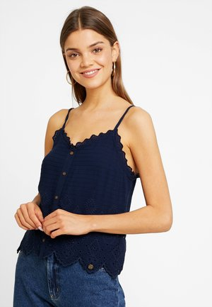 ANNALISA SCHIFFLI CAMI - Top - nautical navy