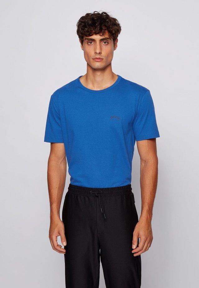 Basic T-shirt - open blue