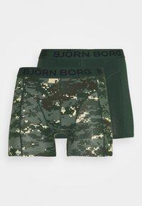 Björn Borg - DIGITAL WOODLAND SAMMY 2 PACK - Underkläder - duck green - 4