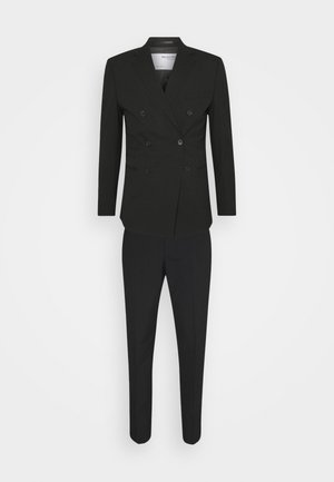 SLHSLIM MAZELOGAN SUIT - Garnitur - black