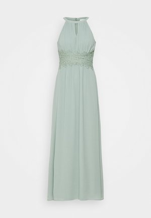 VIMILINA HALTERNECK DRESS - Galajurk - light green