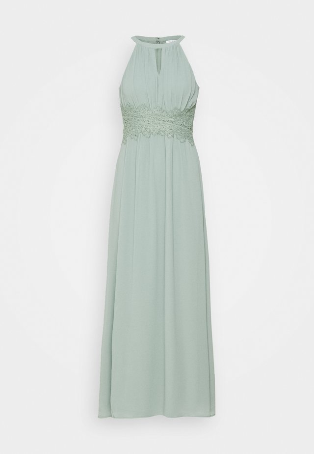 VIMILINA HALTERNECK DRESS - Ballkjole - light green
