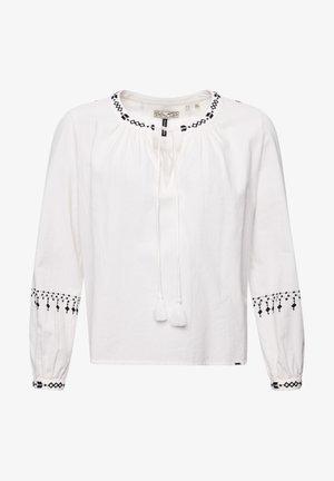 ANISA - Long sleeved top - white