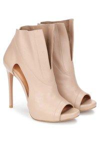 Kazar - KANA - Peeptoe heels - beige - 1