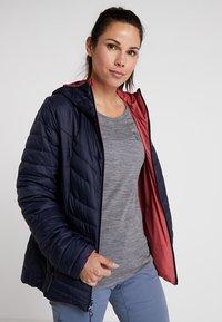 Salomon - DRIFTER HOODIE - Outdoor jacket - garnet rose/night - 0