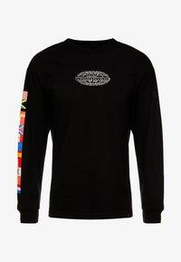 HUF - WORLD TOUR TEE - Long sleeved top - black - 4