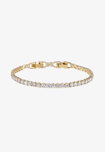 TENNIS BRACELET - Bracelet - gold-coloured