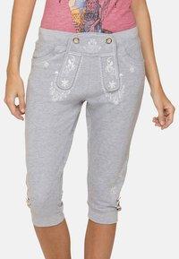 Stockerpoint - ASHLEY - Trousers - grey - 3