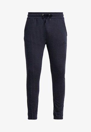 PIN STRIPE - Pantalon de survêtement - navy