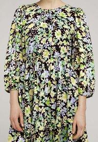 TOM TAILOR DENIM - LIGHT MINI DRESS - Day dress - multi-coloured - 3