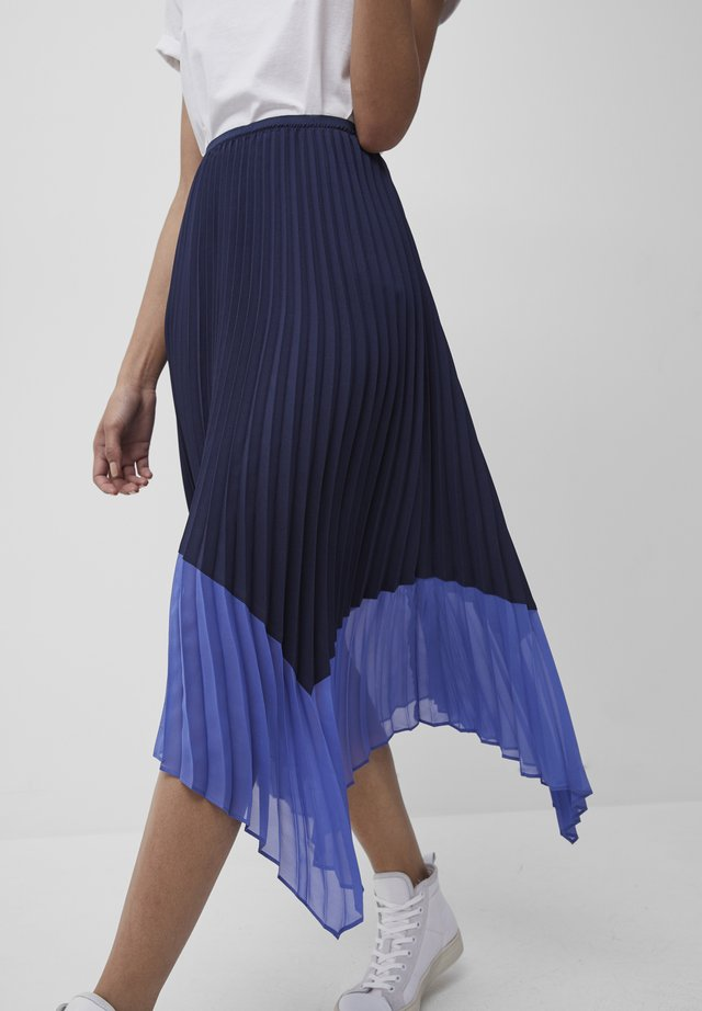 ALI  - A-line skirt - nocturnal/bay blue