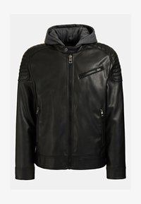 Guess - Faux leather jacket - mehrfarbig schwarz - 3