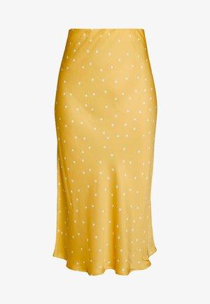 ROBERTA SKIRT - Pencil skirt - yellow