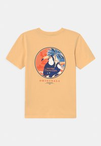 Jack & Jones Junior - JORTROPICANACARD - Print T-shirt - sahara sun - 1
