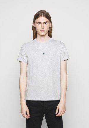 CUSTOM SLIM FIT JERSEY T-SHIRT - T-shirt basique - smoke heather