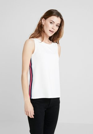 WITH CONTRAST TAPES - Top - off white