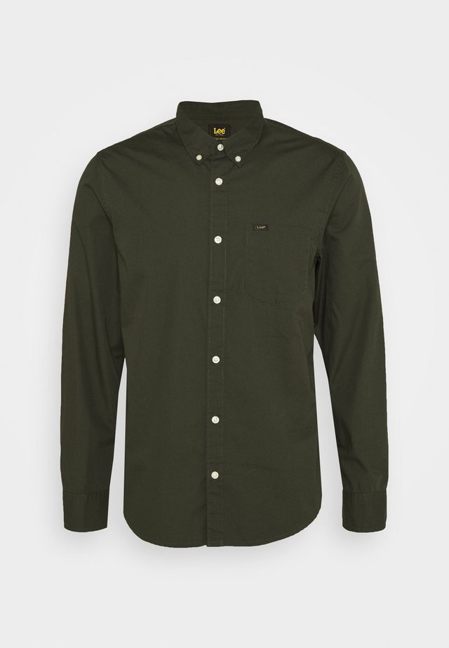 Shirt - serpico green
