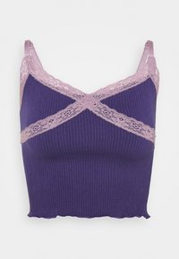 BDG Urban Outfitters - CROSS ALICE CAMI - Top - grape - 4