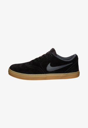 CHECK SOLARSOFT - Skate shoes - black/anthracite