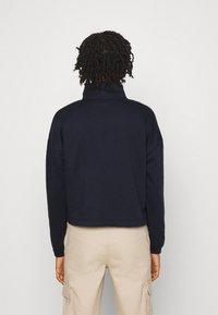 Vero Moda - VMNATALIE HIGHNECK ZIP  - Sweatshirt - night sky - 2