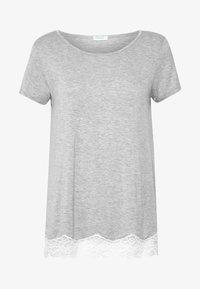 SHORT SLEEVED  - Nattøj trøjer - grey