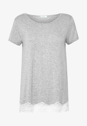 SHORT SLEEVED  - Pyjama top - grey