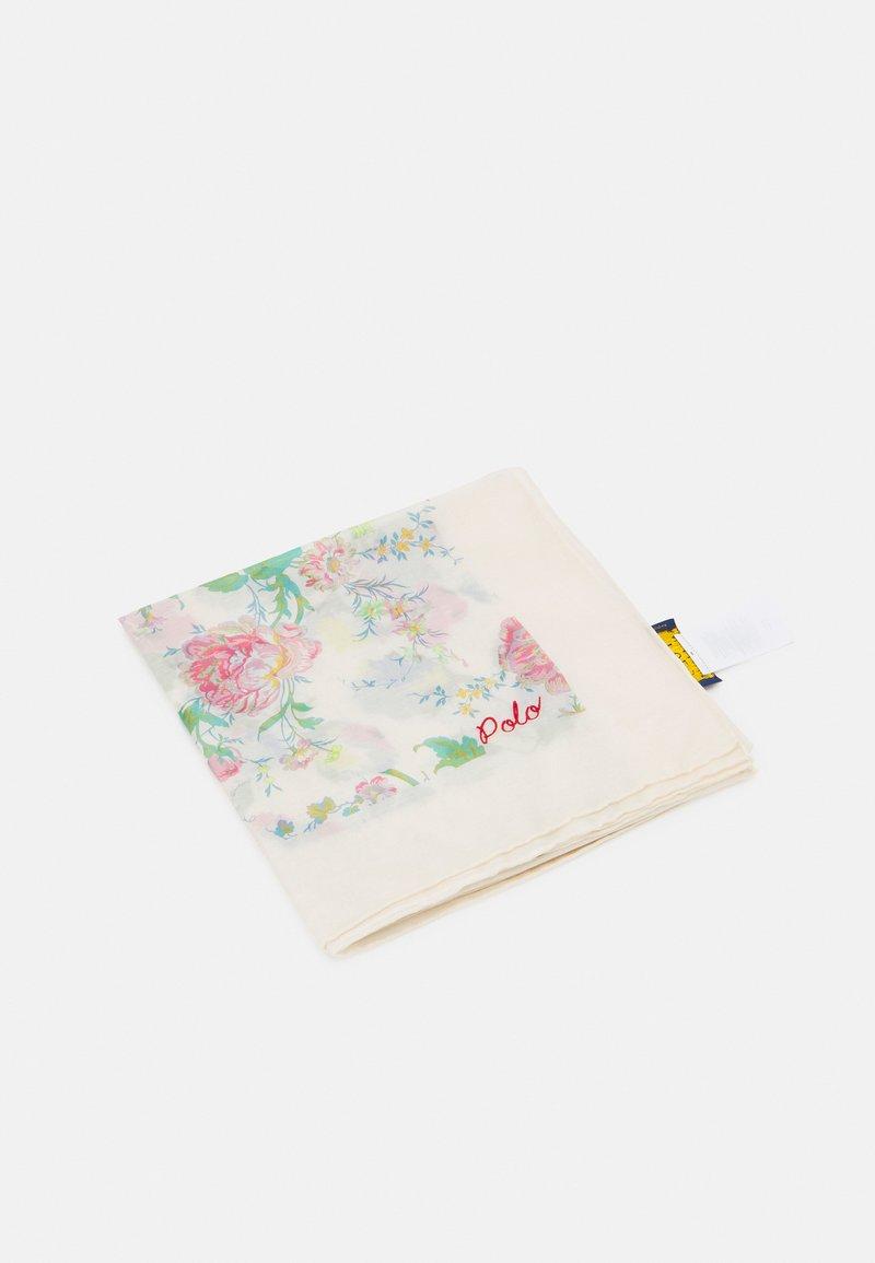 Polo Ralph Lauren - SPLICED FLORAL - Foulard - cream/multi