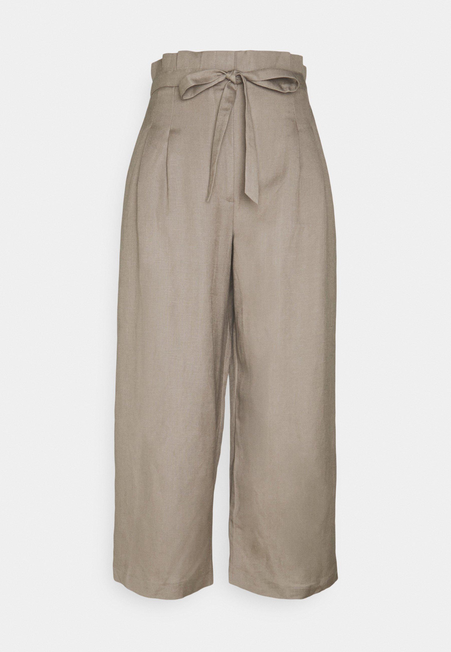Femme VALERIE PAPERBAG WAIST - Pantalon classique