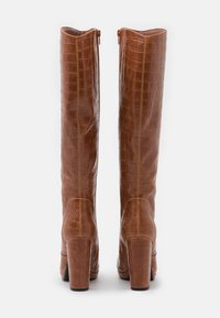 Buffalo - MARIE - Højhælede støvler - cognac - 3