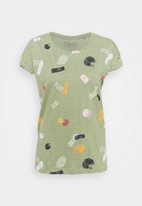 Esprit - Print T-shirt - light green - 0