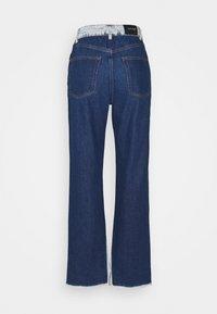 KENDALL + KYLIE - STRAIGHT - Jeans straight leg - medium blue/dark blue - 6