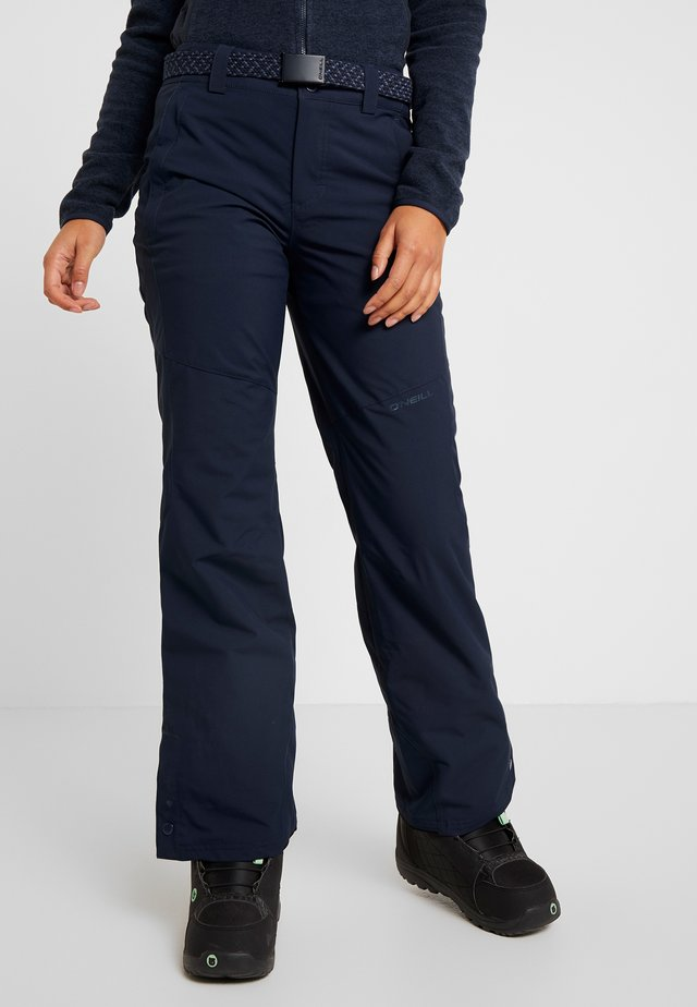 STAR PANTS - Snow pants - ink blue