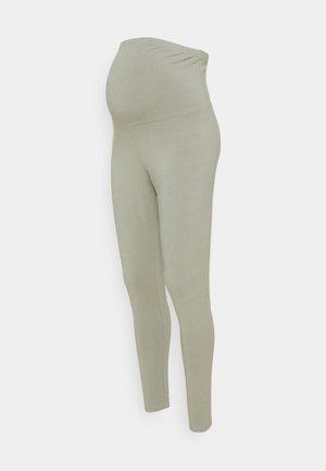 MATERNITY - Leggings - Trousers - sage