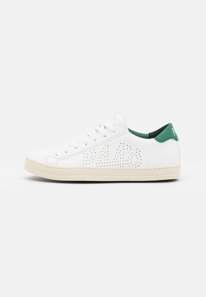 JOHN VEGAN UNISEX - Sneakersy niskie - white/green