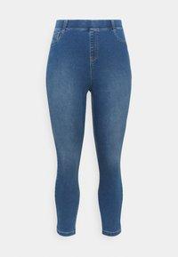 CAPSULE by Simply Be - AMBER - Skinny džíny - mid blue - 3