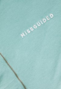 Missguided - ZIP NECK OVERSIZED DRESS  - Day dress - teal - 2