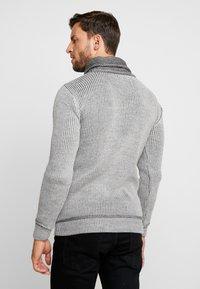 INDICODE JEANS - DANE - Strickpullover - light grey - 2