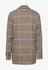 Scotch & Soda - DOUBLE BREASTED LONGER LENGTH IN SPECIAL CHECK - Blazer - yellow - 1
