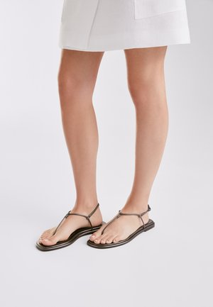 T-bar sandals - dark grey