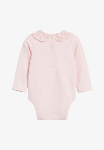 PINK LACE COLLAR BODY (0MTHS-3YRS) - Body - pink