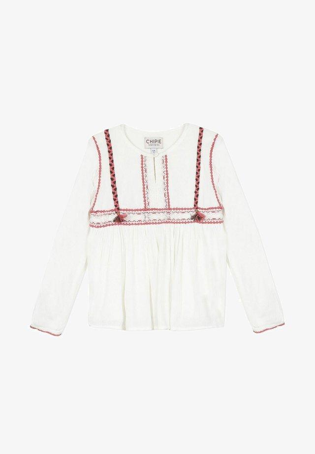 T-shirt à manches longues - broken white